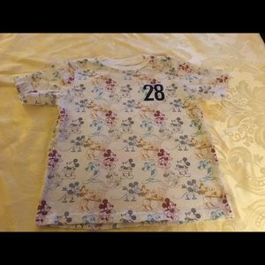 Disney Stages of Mickey Mouse Shirt.  Size 5